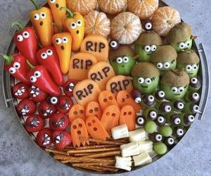 food, Halloween, and fruit image