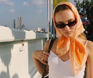 hairstyle and lily rose depp image