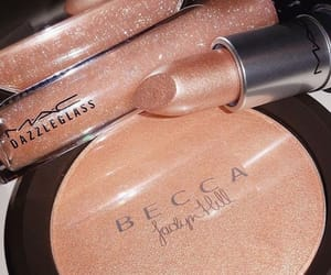 makeup, lipstick, and becca image
