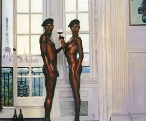 androgyny, black woman, and dick image