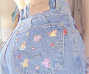 jeans, aesthetic, and soft image