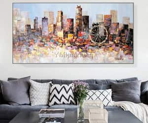 Abstract Painting, Oilpainting, and homedecor image