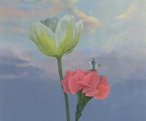 art, giant, and pastel image