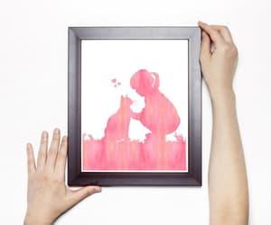 digital print, etsy, and watercolor painting image
