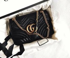 black, fashion, and gucci image