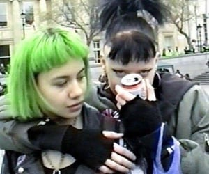 cyber, goth, and punk image