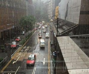 rain, grunge, and aesthetic image