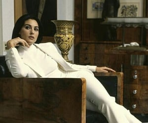 actress, monica belucci, and suit image