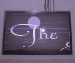 cyberpunk, purple, and tv image