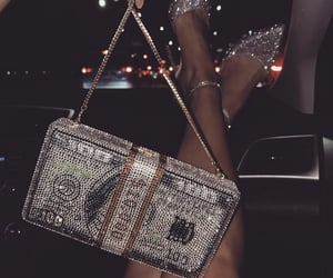 money, bag, and luxury image