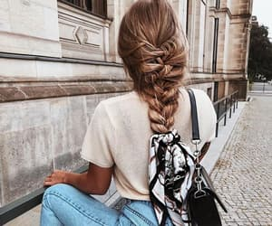 fashion, style, and braid image