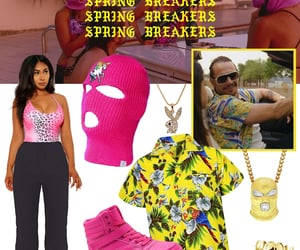 halloween costume, spring breakers, and fashionlush image