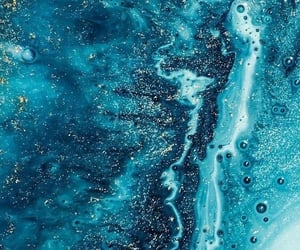 wallpaper, blue, and marble image