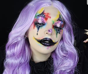 art, face, and make up artist image