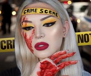 crime scene and Halloween image
