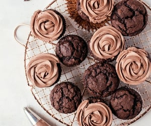 chocolate, food, and muffin image