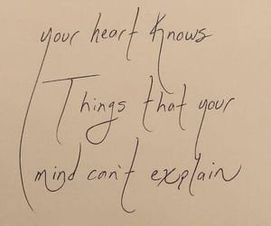 handwritten, words, and heart image