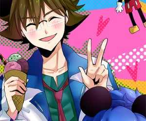 anime, eight, and kite image