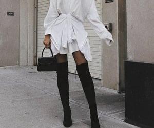 dress, heels, and inspo image