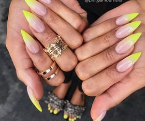 beauty, makeup, and manicure image