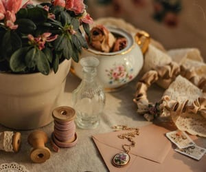 flowers, inspiration, and vintage image