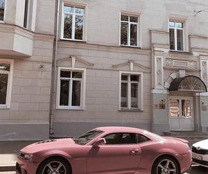 car, aesthetic, and pink image