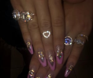 nails, inspo, and cyber ghetto image