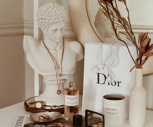dior, aesthetic, and makeup image