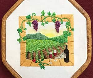 etsy, wall art, and wine gift image