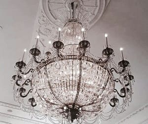 luxury, architecture, and chandelier image