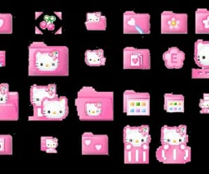 editing, hello kity, and pink image
