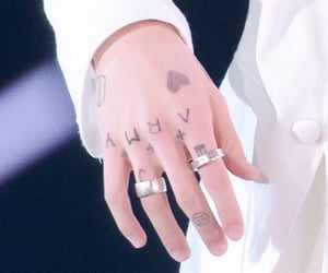 details, hand tattoos, and bts image