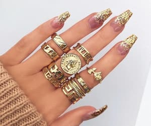 accessories, fashion, and manicure image