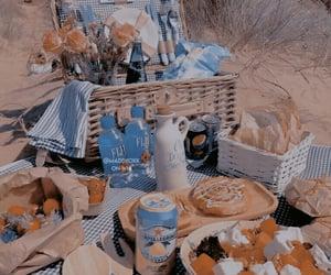 beach, picnic, and ulzzang image