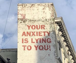 anxiety, quotes, and words image