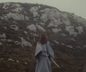 art, fashion, and foggy image