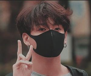 icon, jeon jungkook, and long hair image