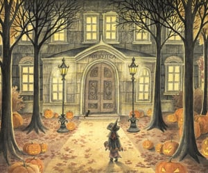 lantern and pumpkin image