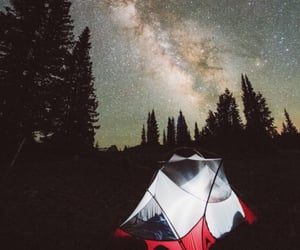 camping, scenery, and photography image