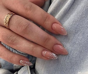 glitter, nail art, and nails image