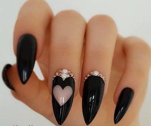 nails, heart, and art image