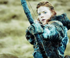 game of thrones, ygritte, and rose leslie image