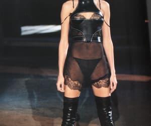 2002, Alexander McQueen, and Carmen Kass image