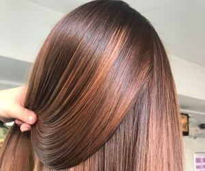 hair, highlights, and balayage image