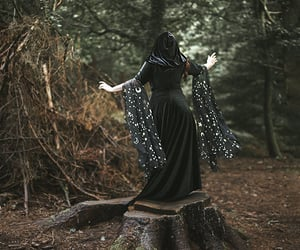 cloak, costume, and fantasy image