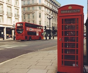 london, telephone, and Londres image