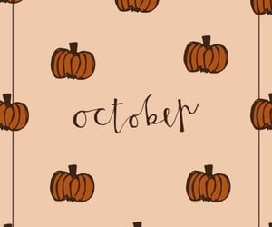 october, background, and wallpaper image