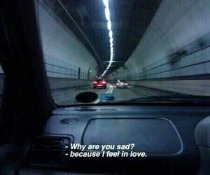 sad, love, and grunge image