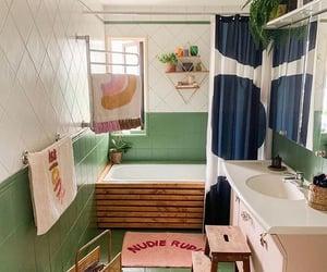 aesthetic, bath, and decor image