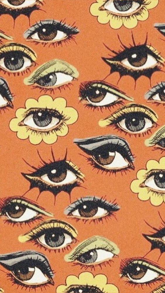wallpaper, eyes, and aesthetic image